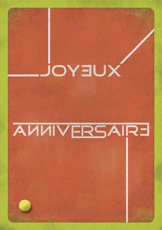 Carte anniversaire (Graphisme)