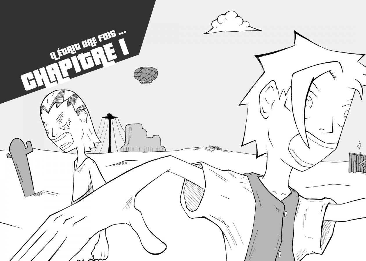 Webcomic Far-Away Chapitre 1 Page 0