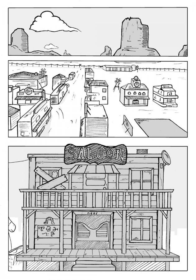 Webcomic Far-Away Chapitre 1 Page 1