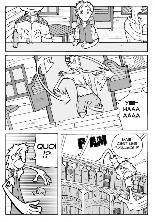 Webcomic Far-Away Chapitre 1 Page 2