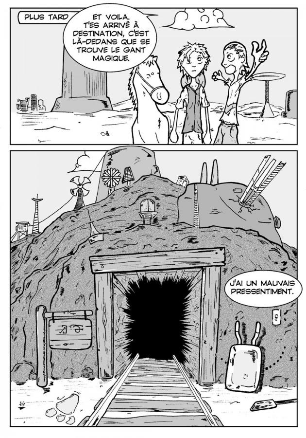 Webcomic Far-Away Chapitre 1 Page 9