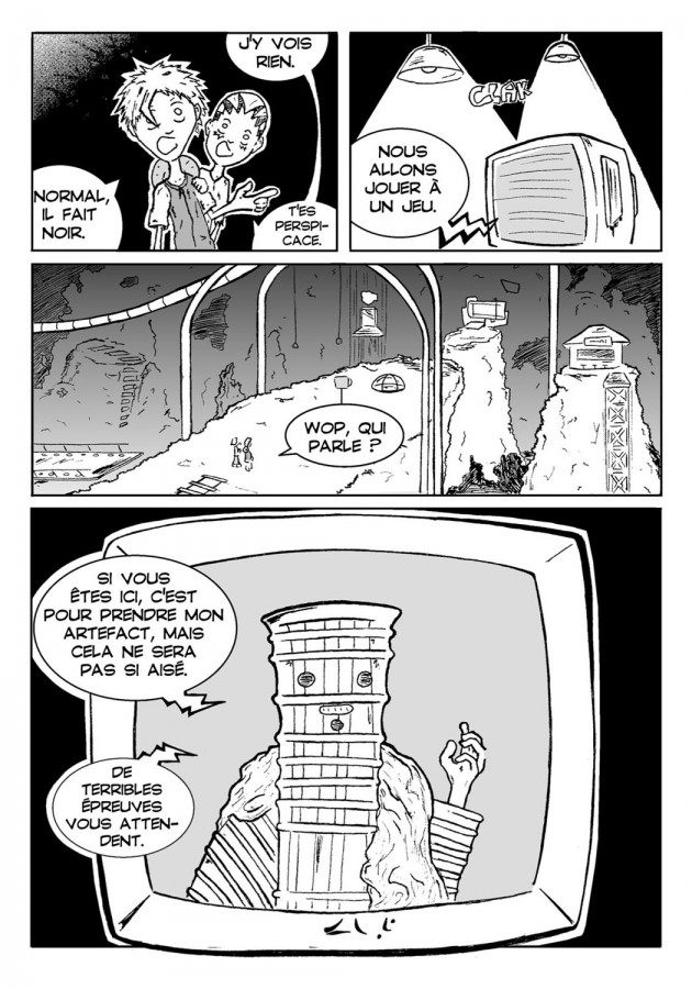 Webcomic Far-Away Chapitre 2 Page 1