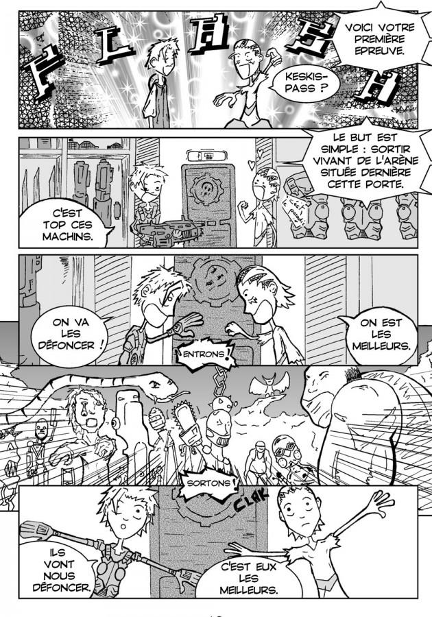 Webcomic Far-Away Chapitre 2 Page 2