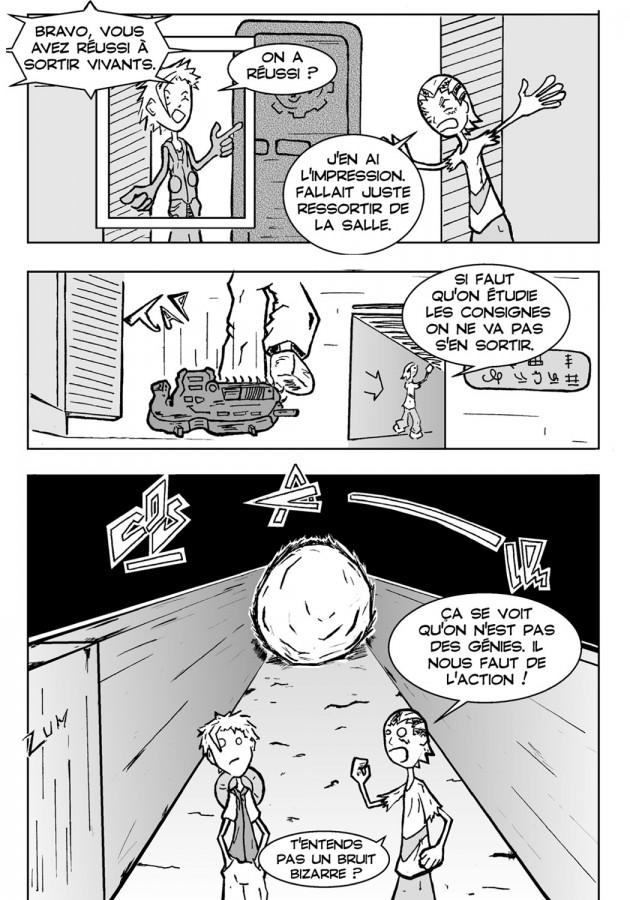 Webcomic Far-Away Chapitre 2 Page 3