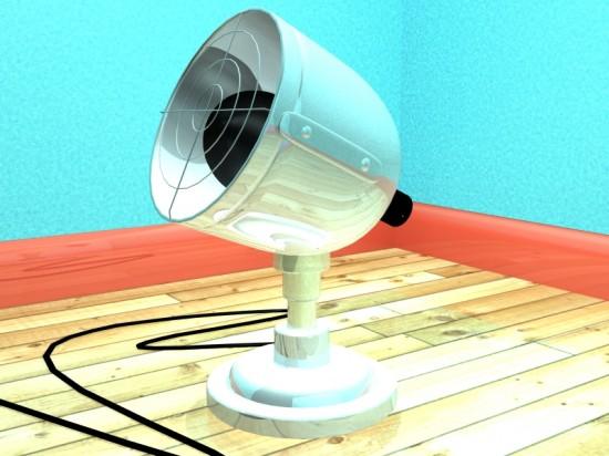 Lampe en 3D, Réalisé avec 3ds Max (3D)
