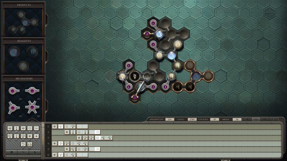 Opus Magnum, un jeu Zachtronics